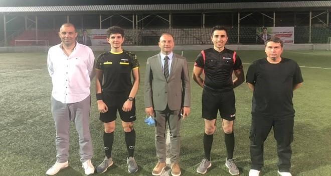 Karşıyaka Belediyesi'nde futbol heyecanı...