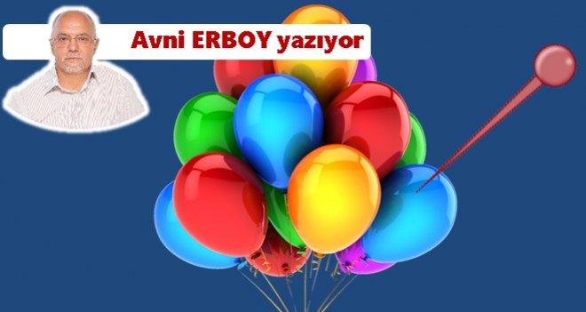 Balonun ömrü toplu iğnenin deyişine kadardır…
