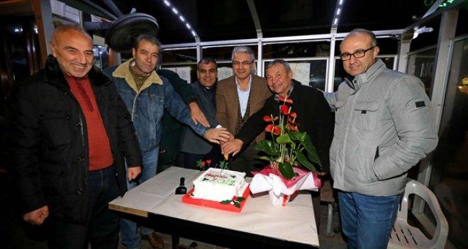 Başkan Akpınar 2019'u taksicilerle karşıladı