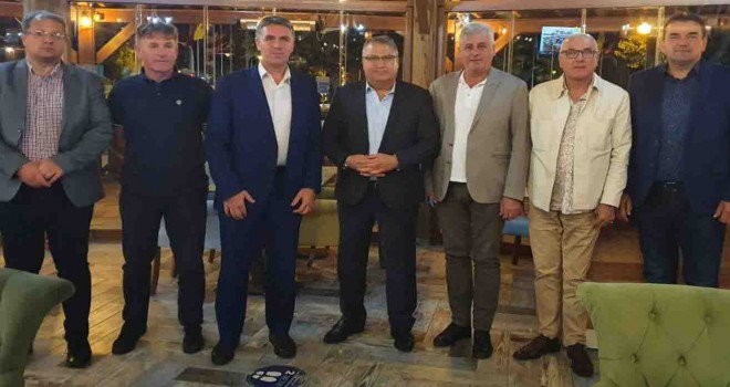 Zavidoviçi Belediyesi'nden İzmir Bosna Sancak Derneği'ne ziyaret