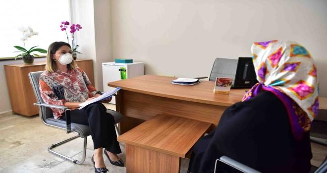 Koronavirüse karşı Bornova'da psikolojik destek