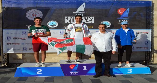 KSK'li Dünya Şampiyonu Yelkenci Bodrum'da birinci