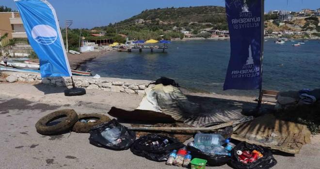 Kıyı ve deniz dibi temizliği sürüyor
