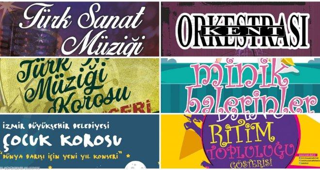 Büyükşehir 2018'e ücretsiz konser ve dans gösterileri ile veda ediyor