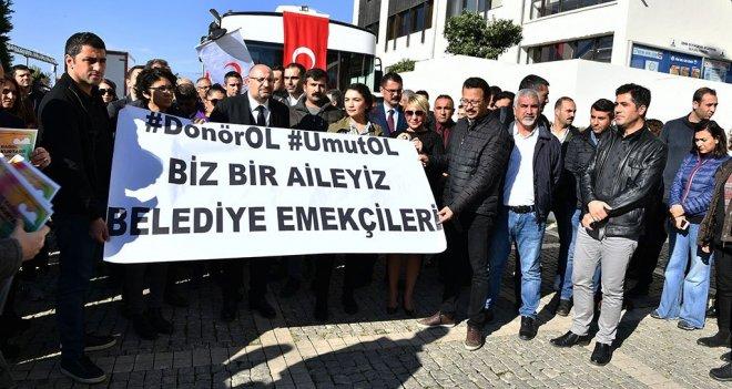 Büyükşehir çalışanlarından umut kampanyası