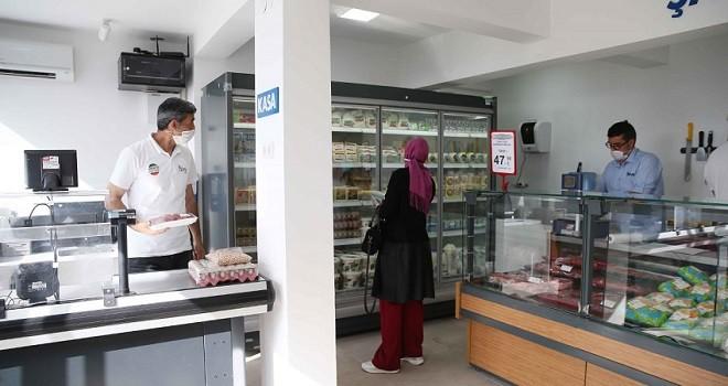 Karşıyaka Belediyesi Kent Market açtı