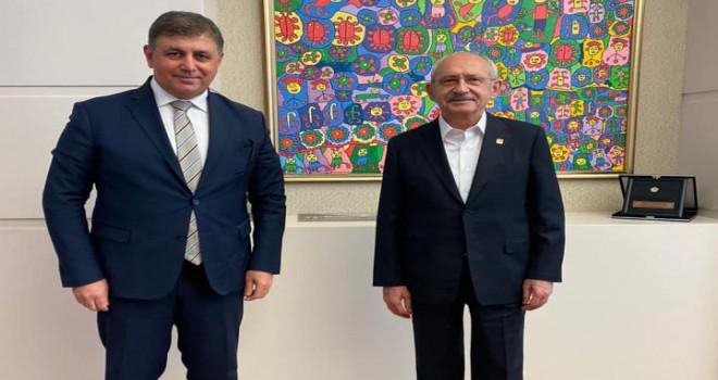 Başkan Tugay, CHP Lideri Kılıçdaroğlu ile görüştü