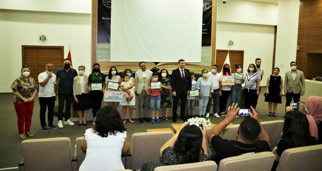Sağlıklı Nesil Sağlıklı Gelecek Yarışması'nda dereceye girenler ödüllendirildi