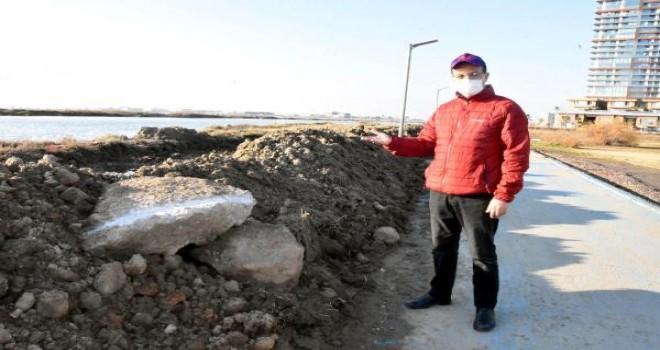 Aydın: Sahile set oluşturmak çözüm değil olsa olsa çevre kirliliği olur