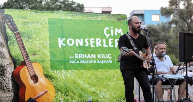 Hasanağa'da çim konserleri başladı