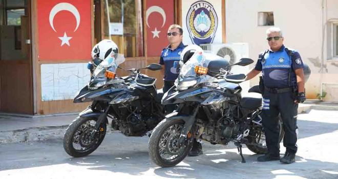 Bayraklı'da motorize zabıta ekipleri göreve başladı