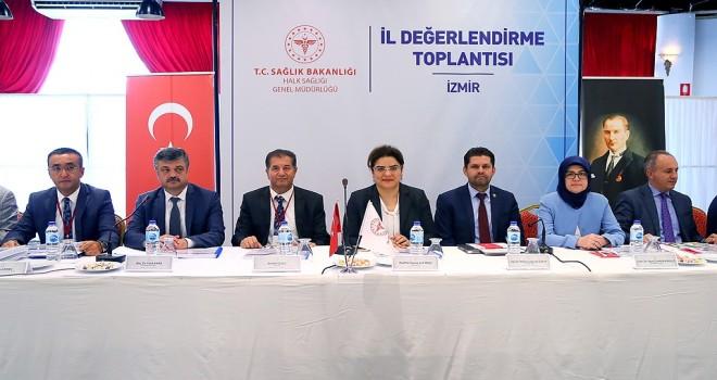 İzmir'in Halk Sağlığı Hizmetleri değerlendirildi