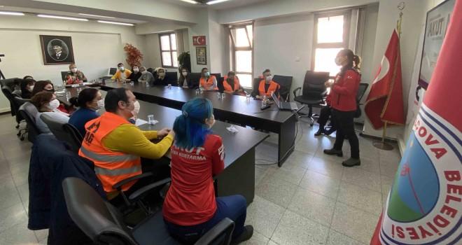 Balçova'da afetlere karşı işbirliği