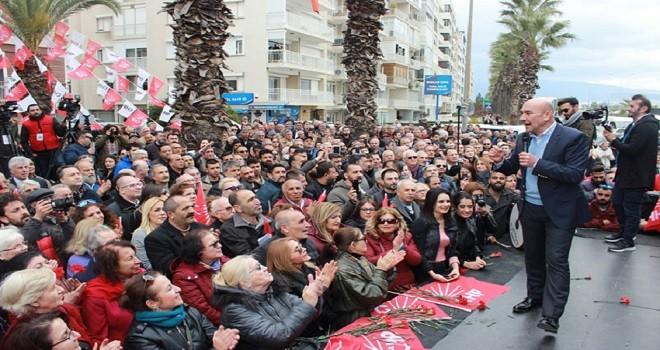 Tunç Soyer: Karşıyaka Stadı'nı yaptıracağız…
