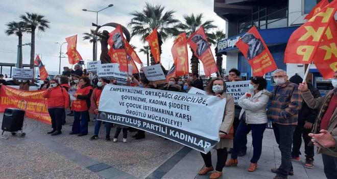 Halkın Kurtuluş Partisi Karşıyaka Çarşı'da yürüdü...