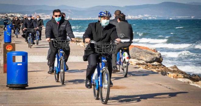 Başkan Soyer müjdeyi verdi: 120 çocuk bisikleti geliyor...