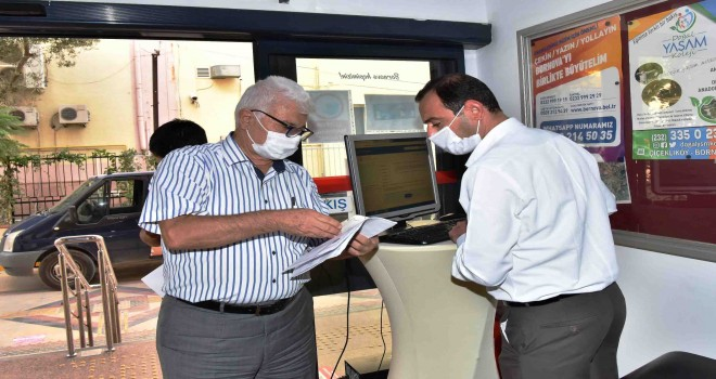 Bornova Belediyesi vatandaşları HES kodu ile içeri alıyor