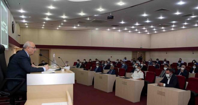 İl Koordinasyon Kurulu Vali Köşger başkanlığında toplandı