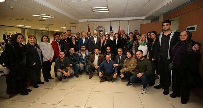 CHP'liler başkan Akpınar'ı ziyaret etti
