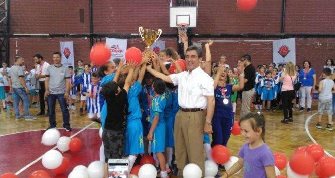 Çocuk Oyunları Ligi, final karşılaşmalarıyla sona erdi