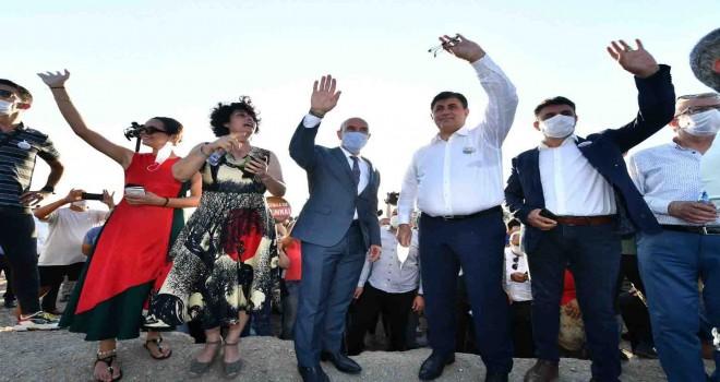 Başkan Soyer Karşıyaka'dan seslendi: İzmir halkıyla ranta karşı mücadele edeceğiz