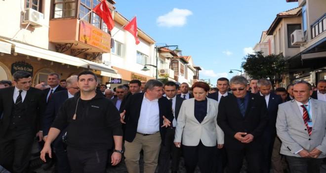 Meral Akşener Yerel Tohum Takas Şenliği'ne katıldı