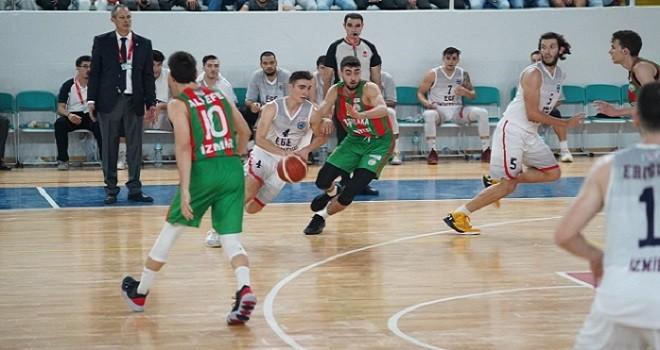 Karşıyaka Belediyespor baskette ilk maçını kaybetti...
