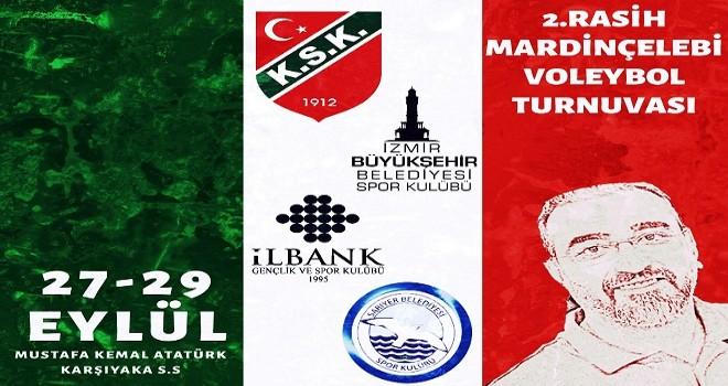 Karşıyaka Voleybol Rasih Mardinçelebi anısına 2. kez turnuva düzenliyor