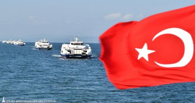İzmir'de toplu ulaşımda rekorlar yılı
