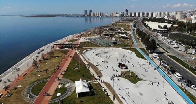 Bostanlı rekreasyon alanı resmen açıldı