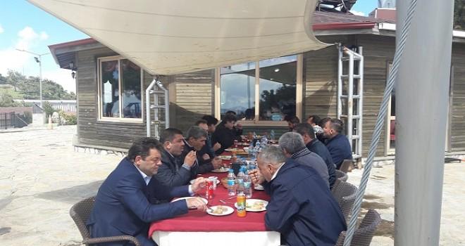 Ulaştırmacılar Yamanlar Gençlik Merkezi'nde toplandı...
