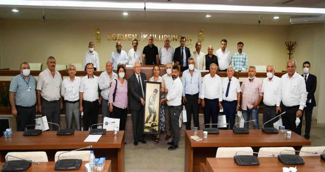 Karabağlar Belediyesi bölgesel muhtarlar toplantısının 3.'sü gerçekleştirildi