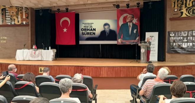 Prof. Dr. Orhan Süren Karşıyaka'da anıldı