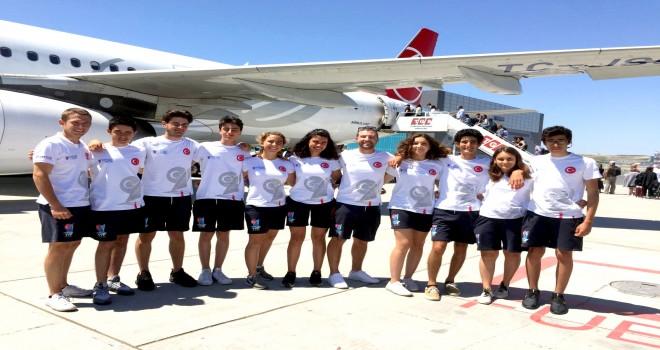 KSK'li yelkenciler Cindoğlu ve Pala Milli Takım ile Portekiz'e gitti