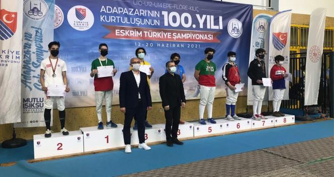 KSK'li Berke Türkiye Şampiyonu oldu