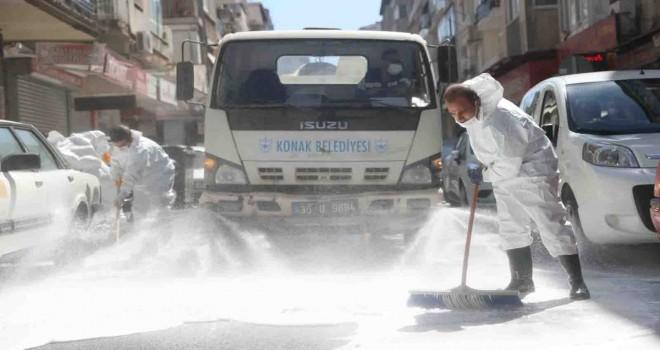 Konak Belediyesi'nden bayram temizliği