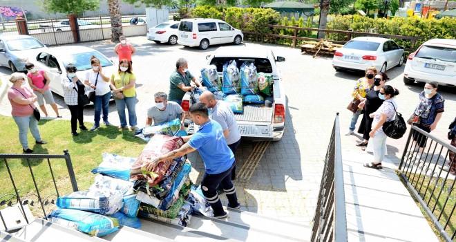 Karşıyaka'da sokak hayvanları için anlamlı iş birliği