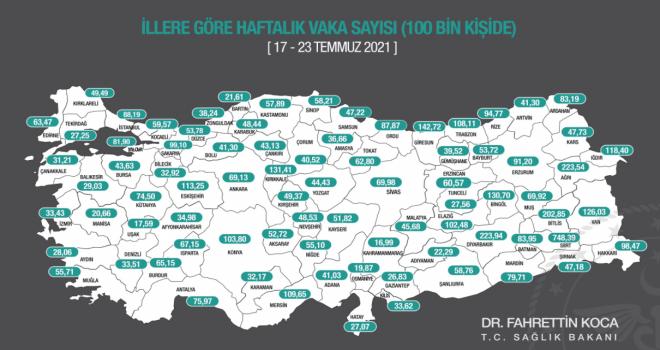 İzmir'de vaka sayısı arttı