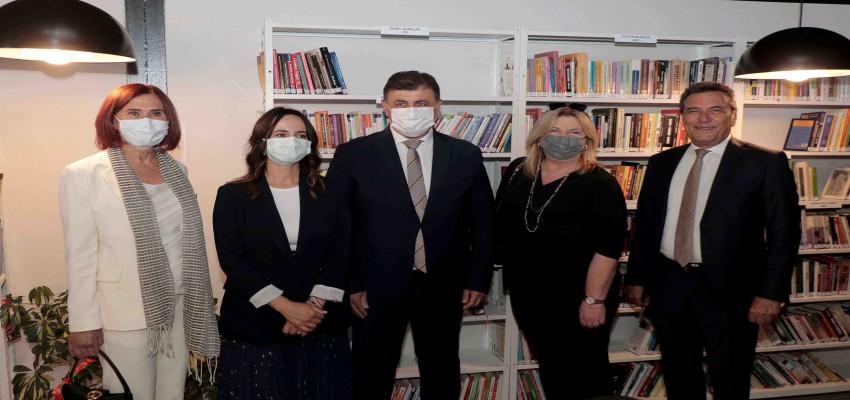 Cihat Kora Kütüphanesi açıldı