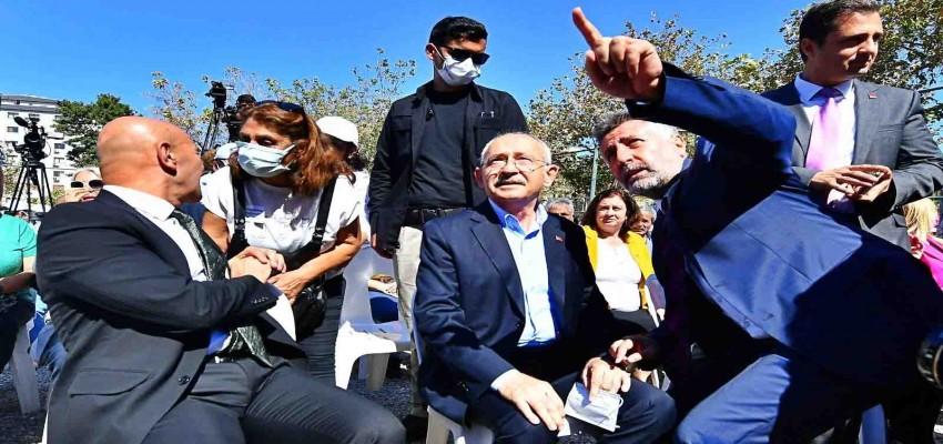 Kılıçdaroğlu İzmir Depremi Proje Alanı Mağdurları Platformu ile bir araya geldi