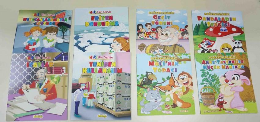 İzmirli çocuklara 40 bin kitap dağıtılacak