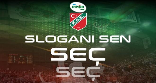 Pınar Karşıyaka'nın yeni sezon sloganını taraftarı seçiyor