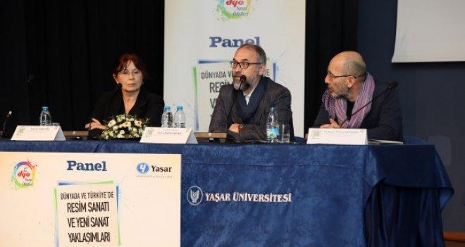 ''Dünyada ve Türkiye'de Resim Sanatı ve Yeni Sanat Yaklaşımları'' konuşuldu