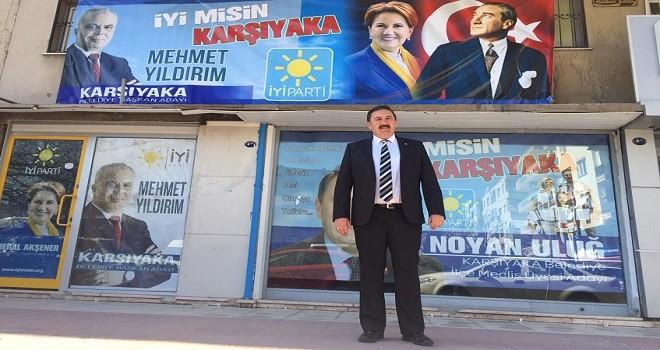 İYİ Parti Meclis adayı Uluğ seçim ofisi açtı