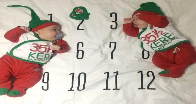 Karşıyaka'da bebekler çok mutlu