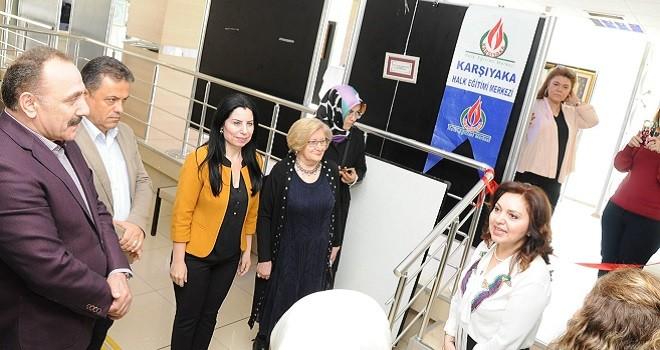 Halk Eğitim Tezhip Yıl Sonu Sergisi açıldı