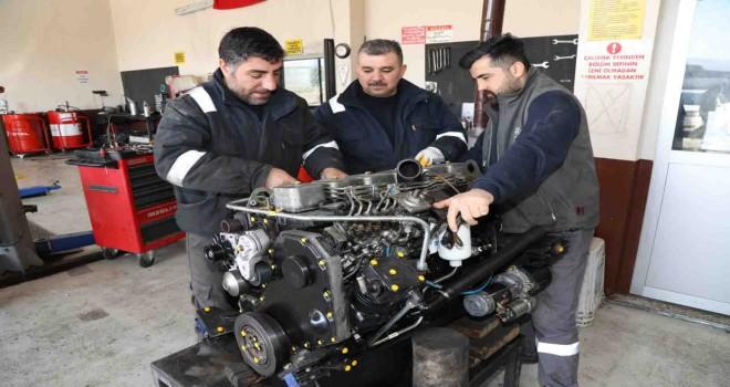 Gaziemir Belediyesi'nde ''tasarruf''lu hizmetler