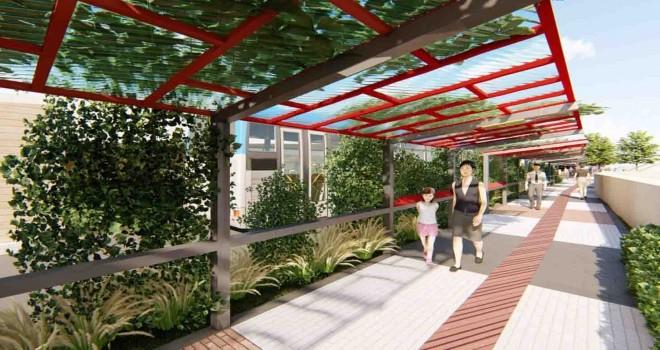 Halkapınar Aktarma Merkezi yepyeni bir görünüme kavuşacak