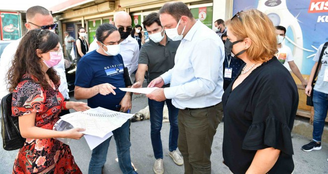Çiğli'de yapı stoku envanteri için çalışmalar sürüyor