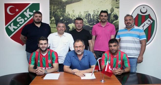Karşıyaka, Mustafa ve Hakan ile sözleşme yeniledi